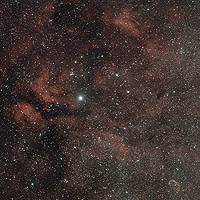 the butterfly and crescent nebulae