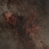 nebulosity in cygnus